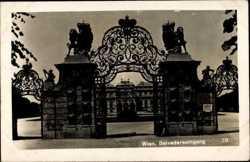 Belvedereeingang