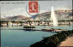 Mont Blanc, Fontaine