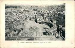 Panorama, visto dalla cupola di S. Pietro