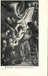 Descente de Croix, par Rubens