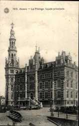 Le Pilotage, facade principale