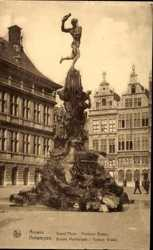 Grand'Place, Fontaine Brabo