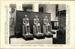 Musee de Kasr el Nil, Statues d'Usortesen