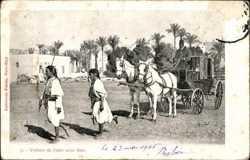 Voiture du Caire avec Sais