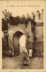 Une Porte de la Casbah Bab el Aasa