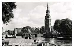 Oude Waal met Montelbaanstoren