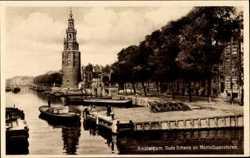 Oude Schans en Montelbaanstoren