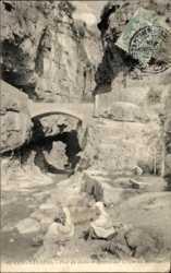 Pont du diable et l'entree des Gorges du Rhummel