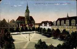 Marktplatz, St. Wenzelskirche