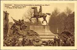 Monument aux Morts, Statue Roi Albert