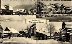 Markt, Schnee, Ernst Thälmann Straße