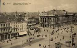 Theatre flamande et Avenue Italie