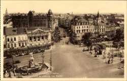Porte de Namur et chaussee d'Ixelles
