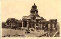 Palais de Justice et Monument de Infanterie Belge