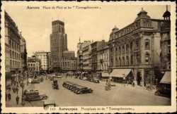 Place de Meir et les Torengebouwen