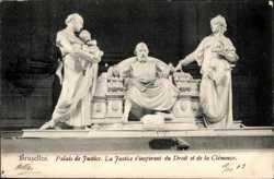 la Justice s'inspirant du Droit et de la Clemence